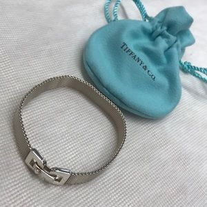 Tiffany & Co. mesh bracelet